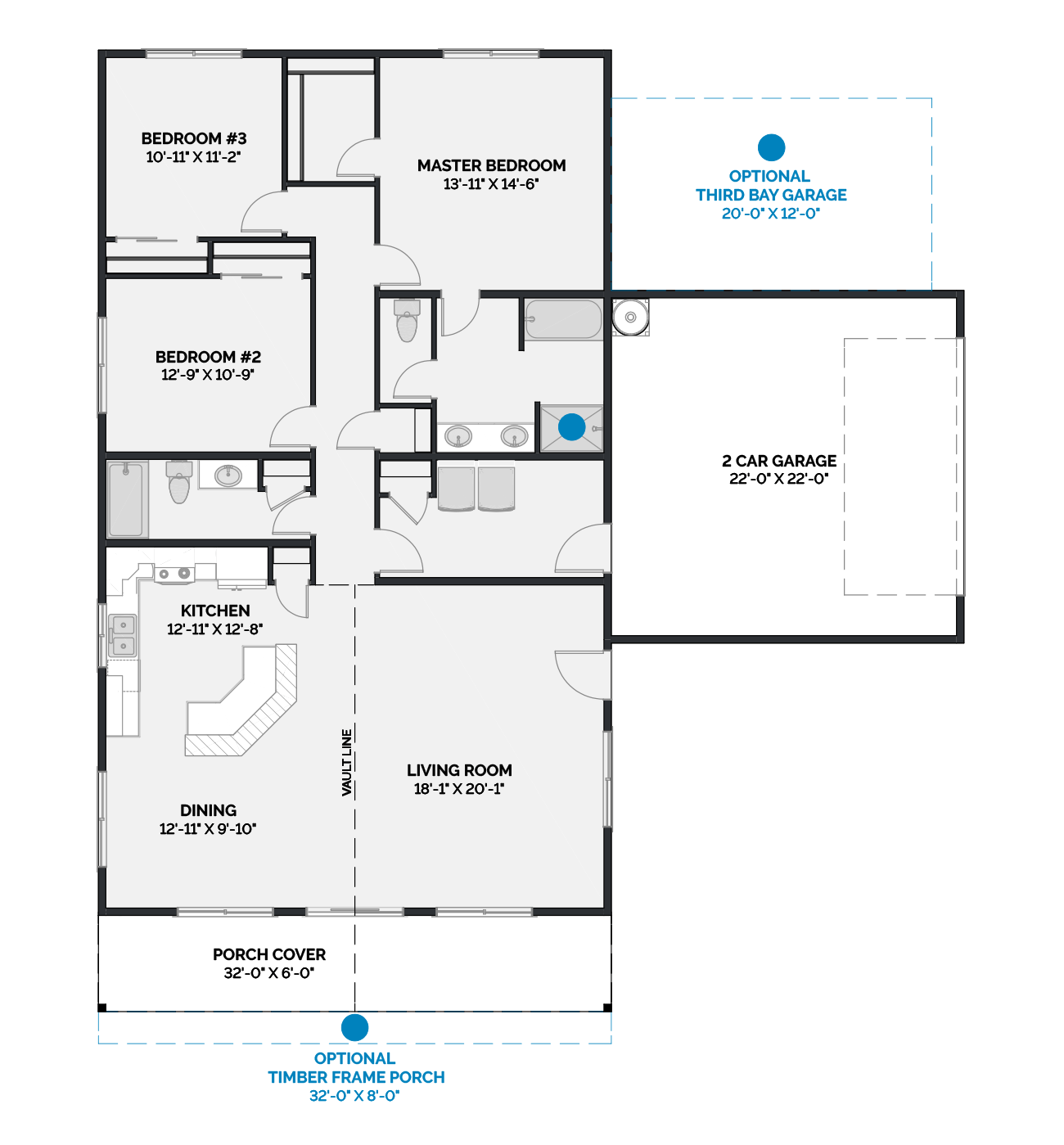Boulder Floor Plan Signature Collection Lexar Homes